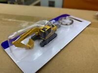 Universal Hobbies Komatsu HB205 Hybrid Excavator Diecast Key ring Key Fob UH5853