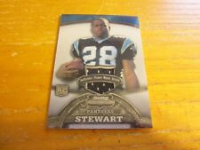 Jonathan Stewart 2008 Bowman Sterling #155A #'d 351/569 ROOKIE Relic Panthers