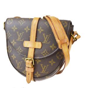 Auth LOUIS VUITTON Chantilly PM Shoulder Bag Monogram Leather BN M51234 85MG132