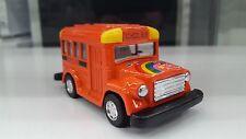 Autobus Scolaire Orange DRÔLE auto modèle KINTOY jouet miniature voiture