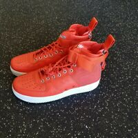 "NIKE AIR FORCE 1 SF AF1 MID ""SPECIAL FIELD"" TEAM ORANGE SZ 9 [917753-800]"