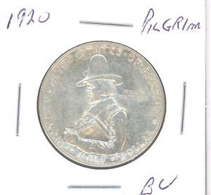 1920 PILGRIM Silver Commemorative Half Dollar 50c BU