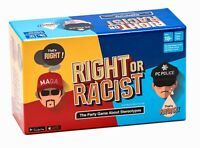 Right Or Racist - Adult Party Game Hilarious Drinking NSFW Game - Gag Gift