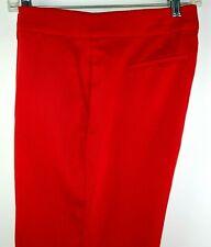 XOXO Pants Red Size 7-8 Women Tapered Leg Slacks