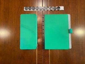Circa® Prestige Foldover Notebook+Pouch+12 Different Refills