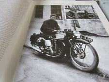 Motorrad Archiv Alltag 51´210 Dr. Krakowitzer auf Norton 1939 und 1952