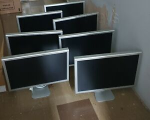 Job Lot 7 Apple Cinema Display A1082 23 Inch Aluminium