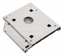 2nd HDD HD SSD hard drive caddy Adapter for Apple MacBook pro 9.5mm SATA DVD ODD
