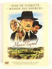 Jean de Florette + Manon des Sources L'INTEGRALE Marcel Pagnol Coffret 3 DVD