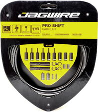 Jagwire Road Pro Slick Polished Shift Cable Kit For Sram/Shimano Ice Gray