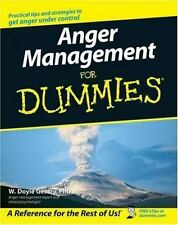 Anger Management for Dummies by W. Doyle Gentry (2006, Paperback)