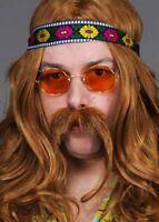 Orange 70s Hippy John Lennon Glasses
