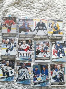 Lot of 23 NHL Upper Deck Young Guns 2015-2021 Panarin Rantanen Hellebuyck Ehlers