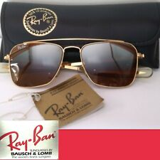 RARE NEW OLD STOCK VINTAGE RAY BAN BL USA BAUSCH&LOMB CARAVAN SMALL W CASE