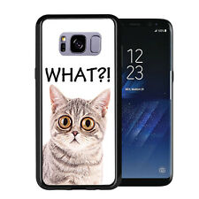 What Bug Eyed Cat For Samsung Galaxy S8 Plus + 2017 Case Cover by Atomic Market
