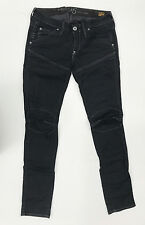 G-Star Jeans '5620 HERITAGE EMBRO TAPERED WMN' BLACK W26 L32 EUC Womens or Girls