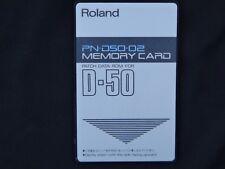 Roland D-50 / Roland D-550 PN-D50-02  ---WORLDWIDE SHIPPING---