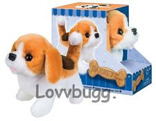 Beagle Puppy Dog Robotic Moves Barks for American Girl Doll Accessory Us Lovvr!
