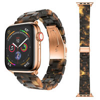 Tortoise shell Lines Watch Band Strap for Apple Watch Series 4 3 2 1 38mm & 40mm