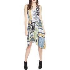 108de31b2171 RACHEL Rachel Roy Patchwork-Print A-Line Dress MSRP  109 Size L   7A