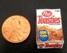 Dollhouse Miniature Box of Post Toasties Cereal - 1:12 Scale