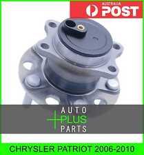 Fits CHRYSLER PATRIOT Rear Wheel Bearing Hub