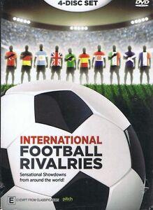 INTERNATIONAL FOOTBALL RIVALRIES (4 x DVD Set) World Soccer Showdowns NEW/SEALED