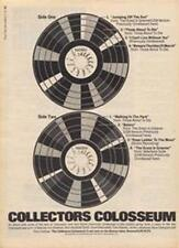 Colosseum Collectors LP advert Time Out cutting 1971