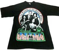 Barack Obama The 1st Family Of The United States Mens Black T-Shirt Sz 3XL Tall