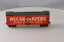 Custom O Scale Oscar Meyer Reefer Car #6877 - 2-Rail