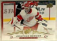 2018-19 Upper Deck UD Exclusives #317 Jonathan Bernier #/100 Detroit Red Wings