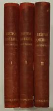 British America, 3 vols, 2nd ed. 1839