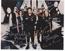 BLAKES 7 - MULTI in person signed 10X8 signed by EIGHT