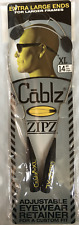 """Cablz Sunglasses Reading Glasses Holder Retainer.. 14"""" XL Stainless Adjustable"""