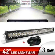 42 Inch 2600W LED Light Bar OFFROAD SUV 4WD FORD JEEP with Free Wiring Harness