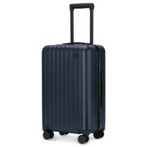 """Blue Carry-On 22"""" x 14"""" x 9"""" Hard Shell Spinner Luggage! GoPenguin Travel Away!"""