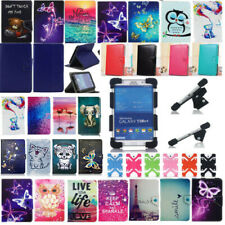 "Universal 7"" 8"" 10""Inch Tablet PU Leather & Shockproof Silicone Stand Case Cover"