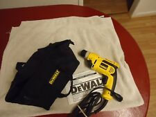 DRILL DEWALT 3/8'' V S R DRILL WITH/CARING BAG''NEW''
