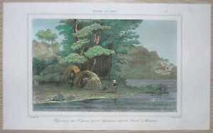 1840 print CANAL MAGDALENA, TIERRA DEL FUEGO, CHILE (#11)