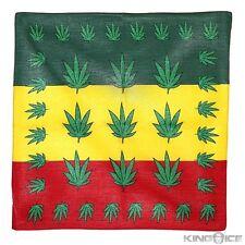 100% COTONE Giamaica BIG canapa Progettazione Bandana Head Wear Bande Collo Sciarpa