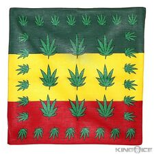 100% Cotton Jamaica Big Hemp Design Bandana Head Wear Bands Scarf Neck