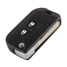 For NISSAN Micra Qashqai Juke Folding Smart Flip Remote Key Cases Shell Fob MN
