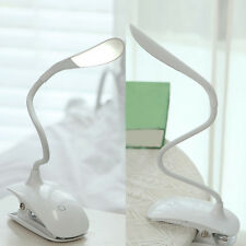 Rechargeable Touch Sensor 14 LED Clip-On Desk Table Dimmable Reading Light Lamp