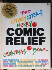 Utterly Utterly Merry Comic Relief Christmas Book by Douglas Adams, etc....