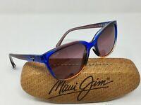 Maui Jim HONI RS758-13A Womens CAT EYE Sunglasses POLARIZED MAUI ROSE GLASS Lens