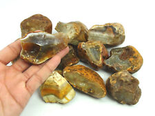 New listing 5 Lb Lot Of Solid Natural Gem Quality Agate Rough From India - Top Quality!