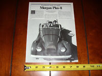 1984 MORGAN PLUS 8 - ORIGINAL ARTICLE
