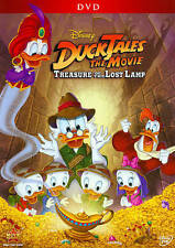 Disney's Ducktales The Movie: Treasure of the Lost Lamp DVD NEW! RARE! Scrooge