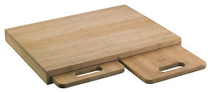 Richardson Sheffield - Schneidebrett TRIO Bambus - Maße:39,0 x 29,6 x 1,5 cm