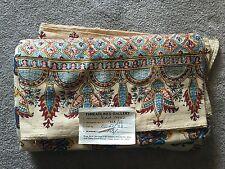 Authentic Pakistani Gulkars Bedspread 8.5' x 7'